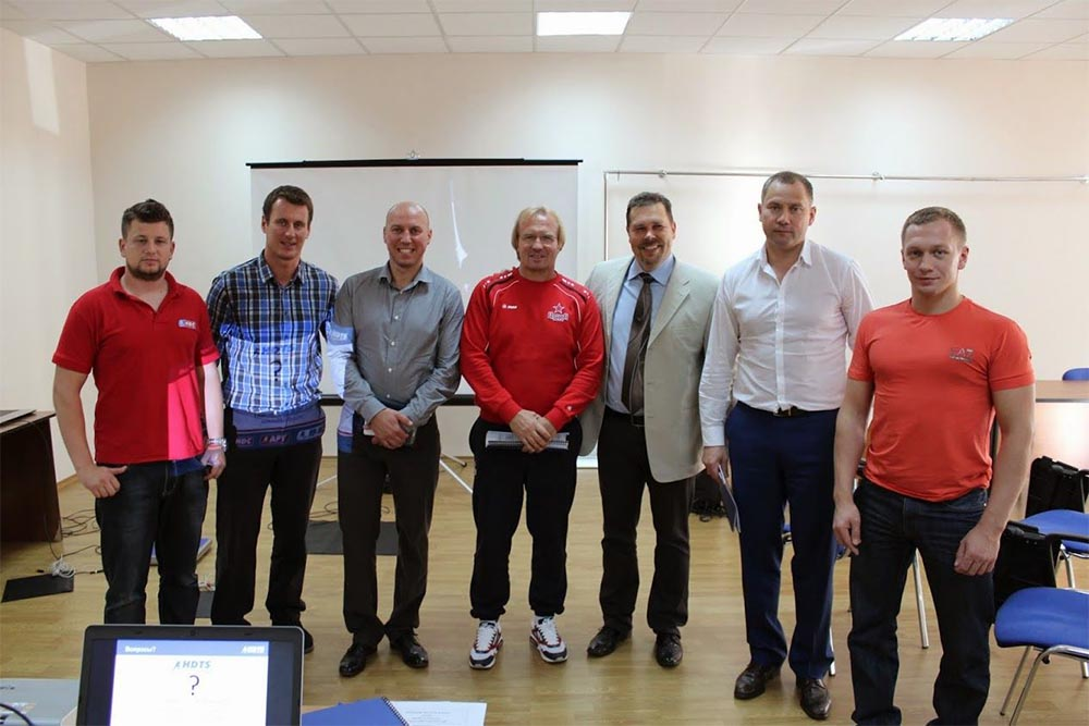 Training seminar for CSKA Moscow