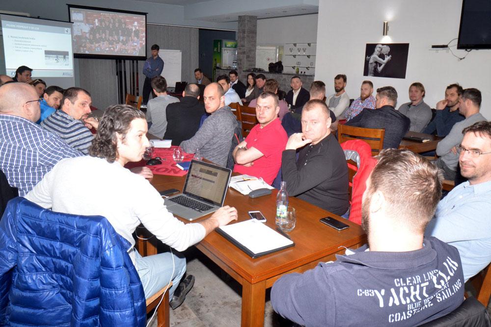 Training seminar in Detva town